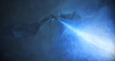GoT ice dragon Viserion