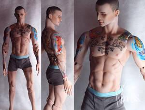 Alex - Agatti dolls -Chester Bennington