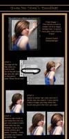 Glowing hair tutorial