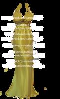Sexy yellow dress