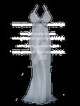 Sexy light blue dress