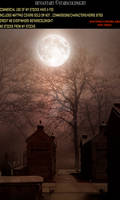 Premade Background 24 by StarsColdNight cemetery