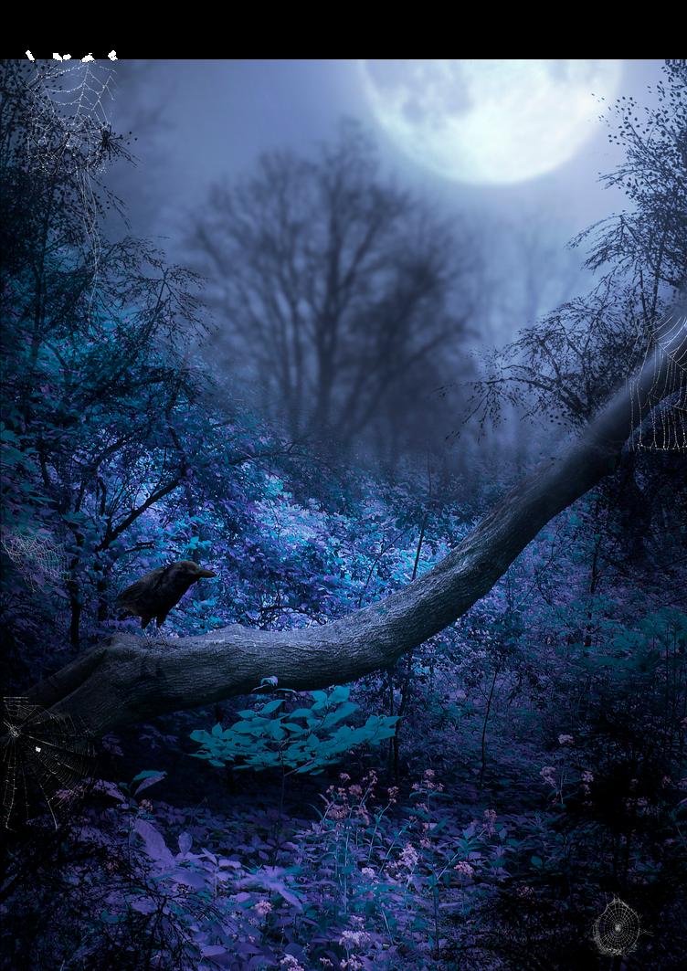 Tree spot raven premade BG by StarsColdNight