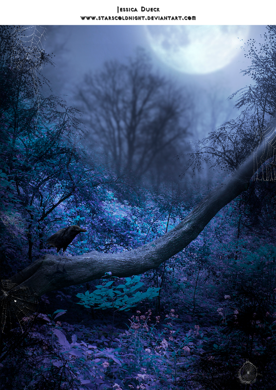 Tree spot raven premade BG by StarsColdNight