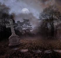 Cemetery II Bg Premade by StarsColdNight