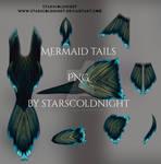 Mermaid tails 2 PNG
