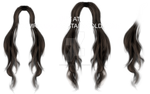 Lolita hair PNG