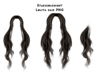 Lolita hair PNG by StarsColdNight