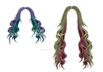 Candy hair PNG