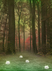 Swamp II bg by StarsColdNight