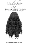 Curly Hair PNG