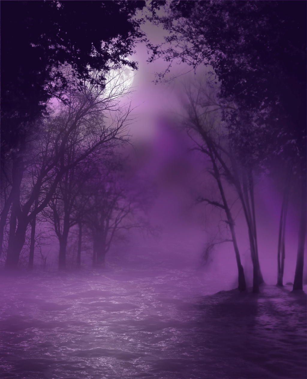 Swamp iii premade bg by starscoldnight on deviantart - Show me the color lavender ...