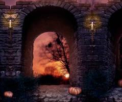Halloween BG III by StarsColdNight