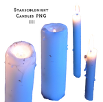 candles PNG III