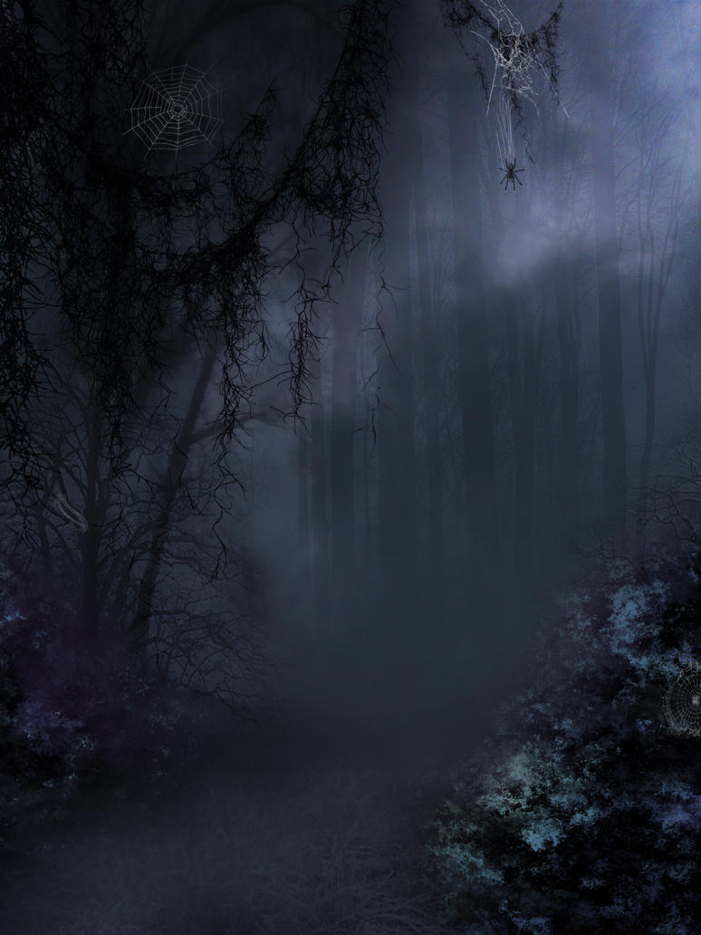 Hollow Forest premade BG by StarsColdNight
