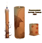 Autumn candles PNG