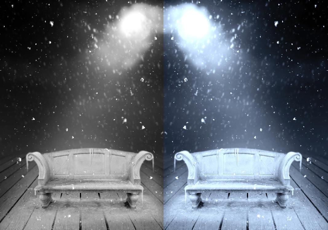 Frozen chair IV Premade Bg by StarsColdNight