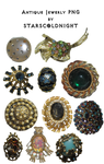 Antique Jewerly png by StarsColdNight