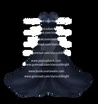 Dark Blue Dress By Starscoldnight