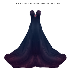 Dark Purple Dress By Starscoldnight by StarsColdNight
