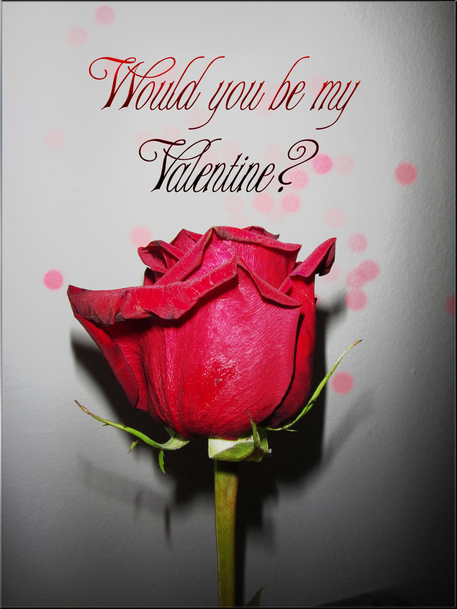 ... Would You Be My Valentine By StarsColdNight