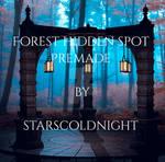 Forest Hidden Spot Premade Bg By Starscoldnight