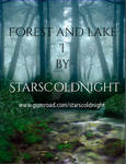 Forest and lake premade BG