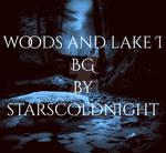 woods and lake purple BG by starscoldnight