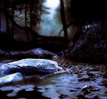 woods and lake purple BG by starscoldnight by StarsColdNight