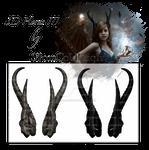 3D Horns III by starscoldnight