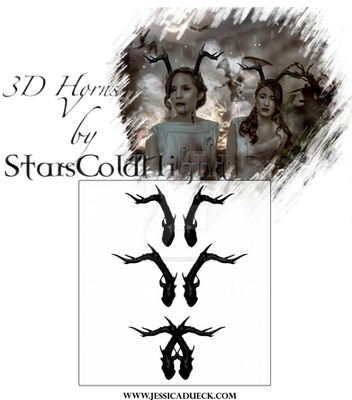 3D Horns V by starscoldnight