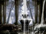 waterfall 1 premade BG  by starscoldnight