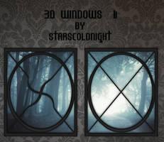 3D Windows II by StarsColdNight