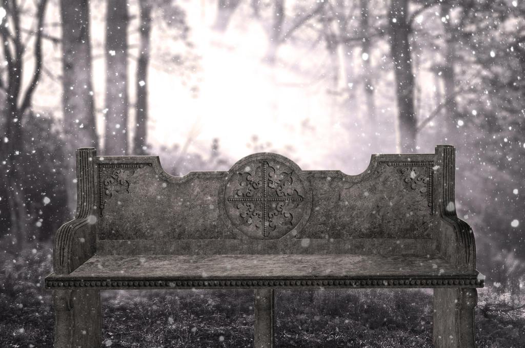 Frozen chair premade BG VI by StarsColdNight
