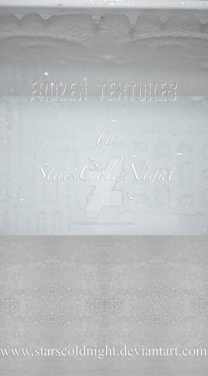 Frozen textures HQ stock