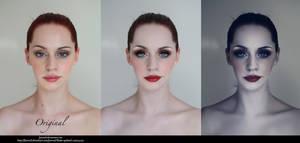 Adding make up by StarsColdNight