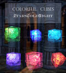 Colorful Cubes stock