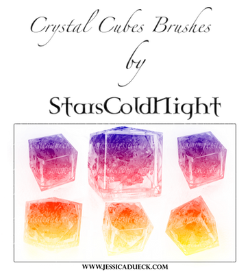 Crystal Cubes Brushes By Starscoldnight