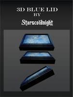 3D Blue LidS by StarsColdNight