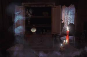 Dybbuk Box by StarsColdNight
