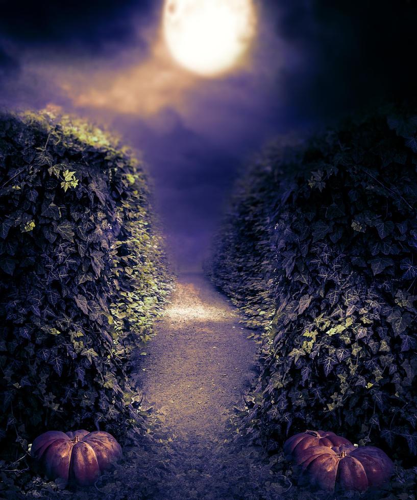 Premade BG Halloween II by StarsColdNight