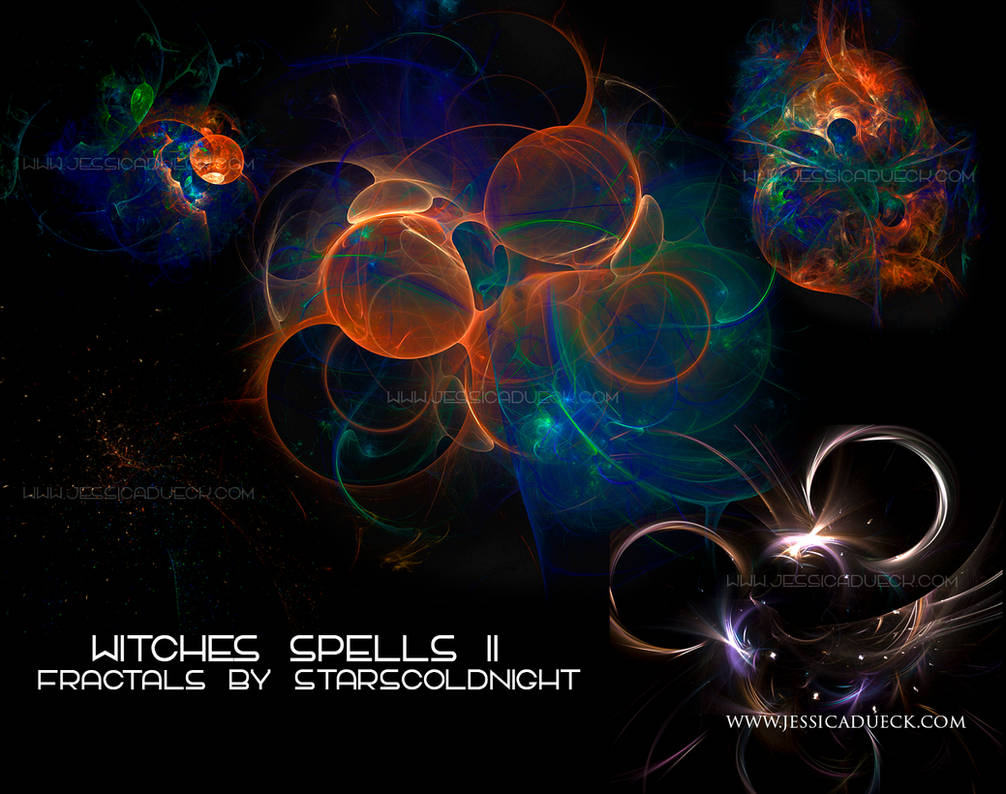 witches spells II fractals by STARSCOLDNIGHT by StarsColdNight