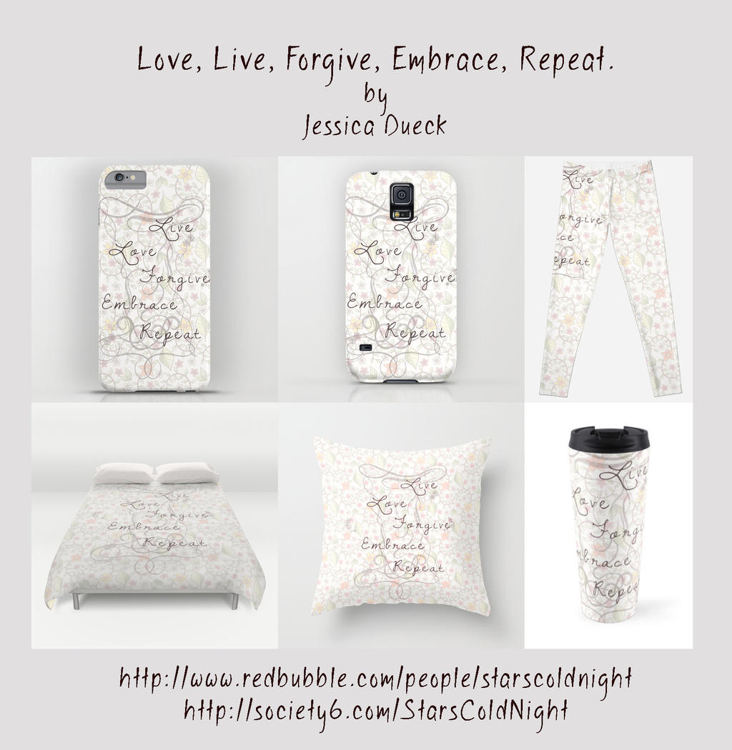 Live Love products by StarsColdNight