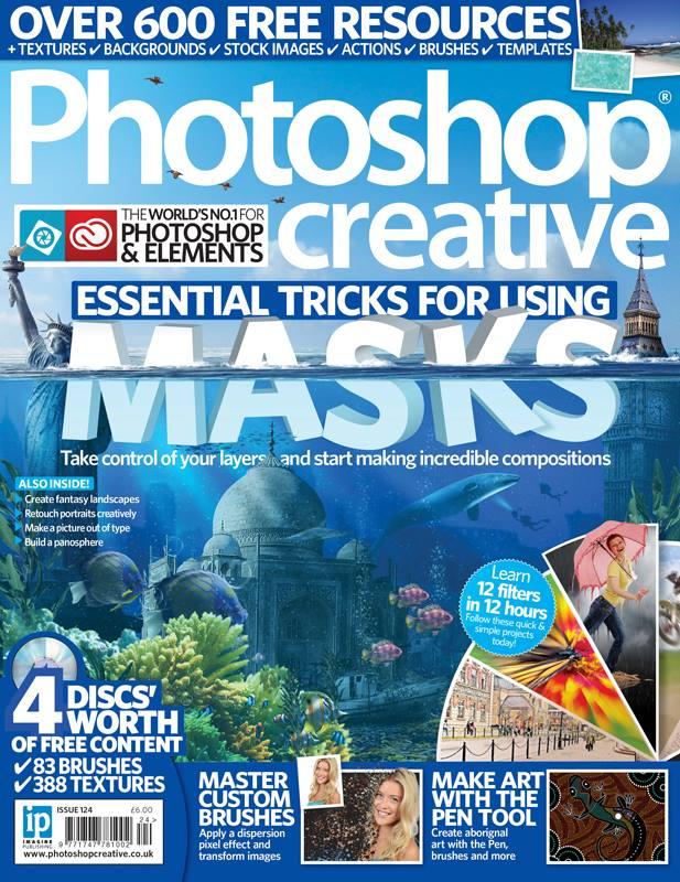 photoshop creative uk Issue 124   by StarsColdNight