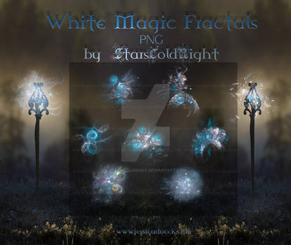 White Magic Fractals PNG by  StarsColdNight
