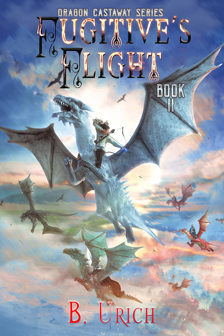 Dragon Castaway Fugitives Flight II by B. Urich by StarsColdNight