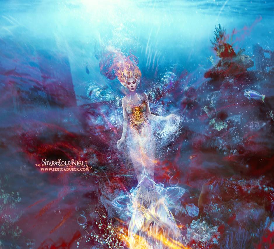 Ocean's Daughter by StarsColdNight