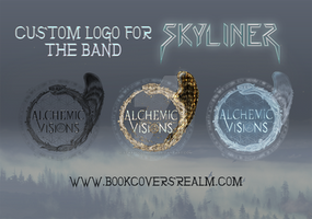 Custom logo design for band Skyliner