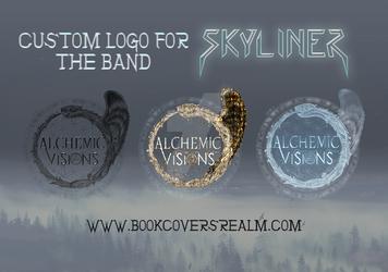 Custom logo design for band Skyliner