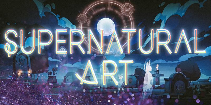 Supernatural art 2021 logo